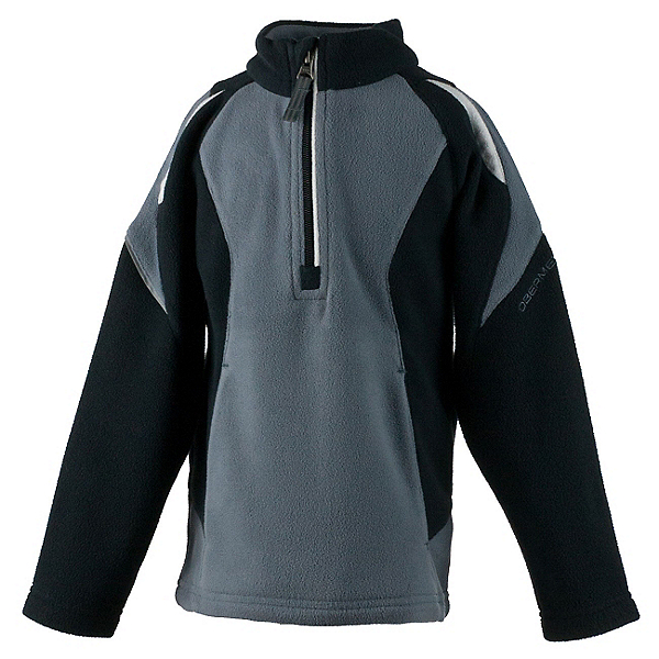 Obermeyer Ruckus Fleece Toddler Boys Midlayer, Graphite, 600