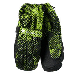 Obermeyer Puffy Toddler Boys Mittens, Green Mesh Print, 256