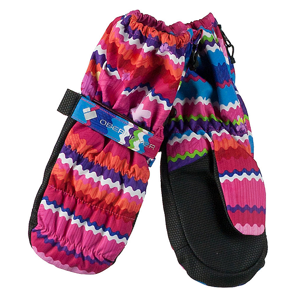 Obermeyer Puffy Toddler Girls Mittens, , 600