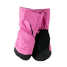 Obermeyer Gauntlet Toddler Girls Mittens, Peony Pink, 256