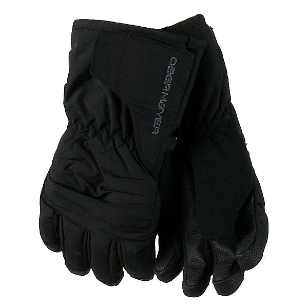 Obermeyer Gauntlet Toddler Boys Glove, Black, 600