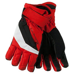 Obermeyer Cornice Boys Gloves, Red, 256