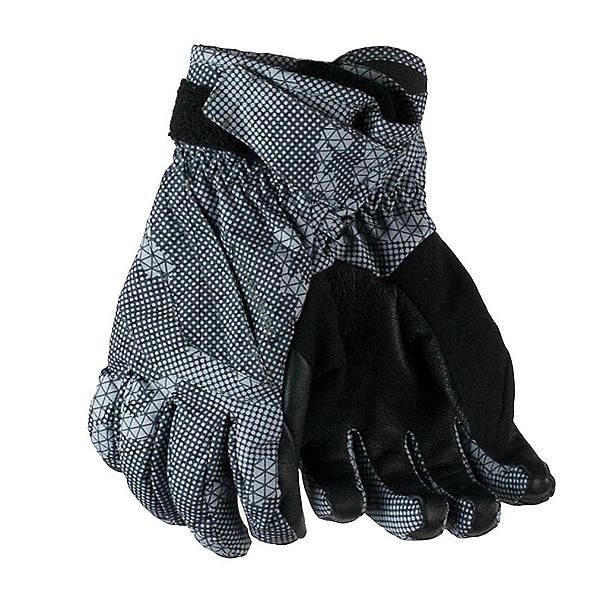 Obermeyer Cornice Boys Gloves, Grey Bit Camo, 600