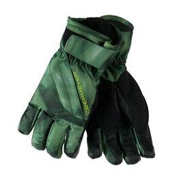 Obermeyer Cornice Boys Gloves, Smoke Screen Print, 256