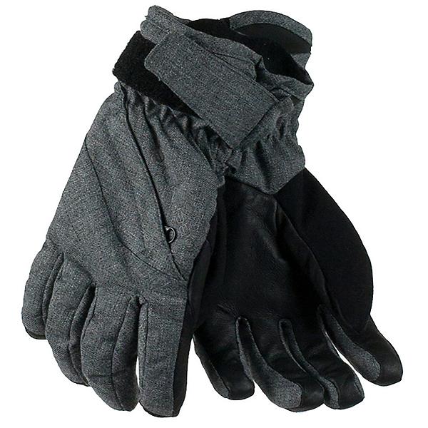 Obermeyer Cornice Girls Gloves, Light Heather Grey, 600