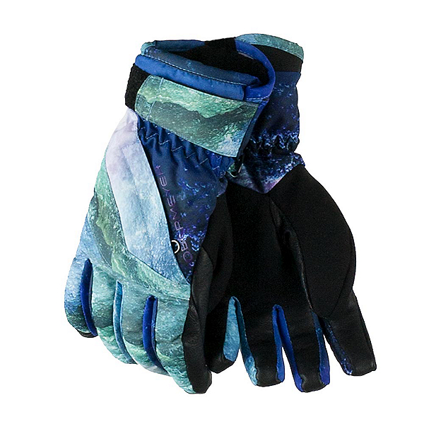 Obermeyer Cornice Girls Gloves, Elevation Print, 600