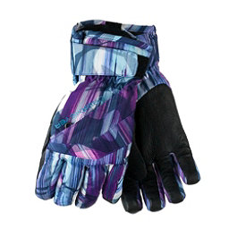 Obermeyer Cornice Girls Gloves, Escape Print, 256