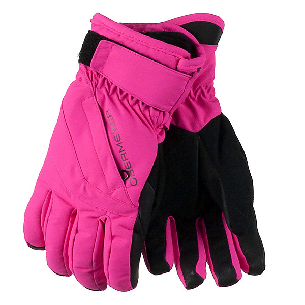 Obermeyer Cornice Girls Gloves 2017, Electric Pink, 600