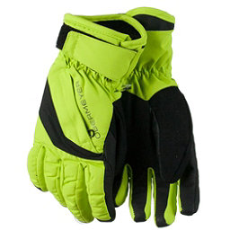 Obermeyer Cornice Boys Gloves 2017, Screamin Green, 256