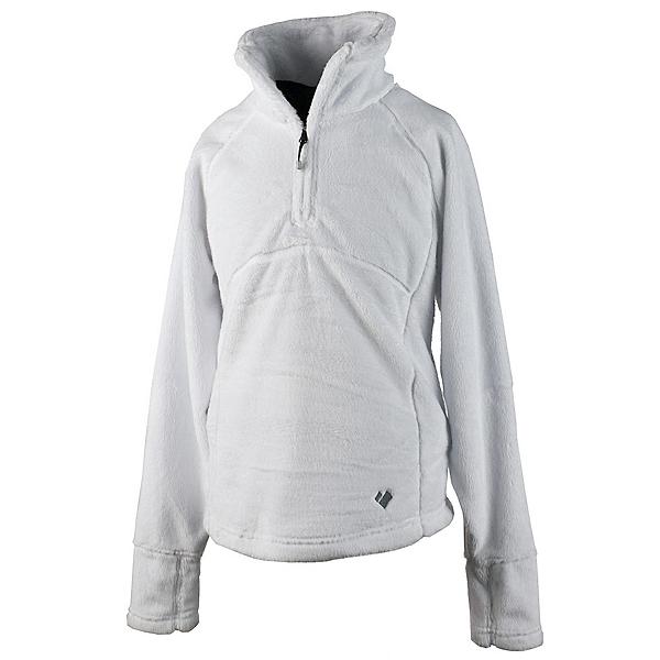 Obermeyer Furry Fleece Top Teen Girls Midlayer, White, 600