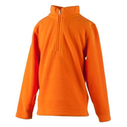 Obermeyer Ultragear 100 Micro Zip Toddler Girls Midlayer, Tangerine, 256