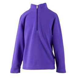 Obermeyer Ultragear 100 Micro Zip Toddler Girls Midlayer, Grapesicle, 256