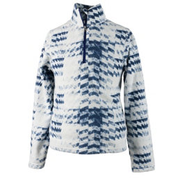 Obermeyer Bomber Pro 100WT Zip-Neck Teen Boys Midlayer, Coat Of Arms, 256