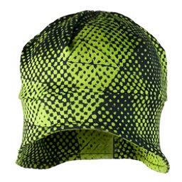 Obermeyer Teen Jib Skull Cap, Green Mesh Prin, 256