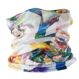 Obermeyer Bumps Sport 75WT Teen Neck Warmer, Chevron Floral, 256