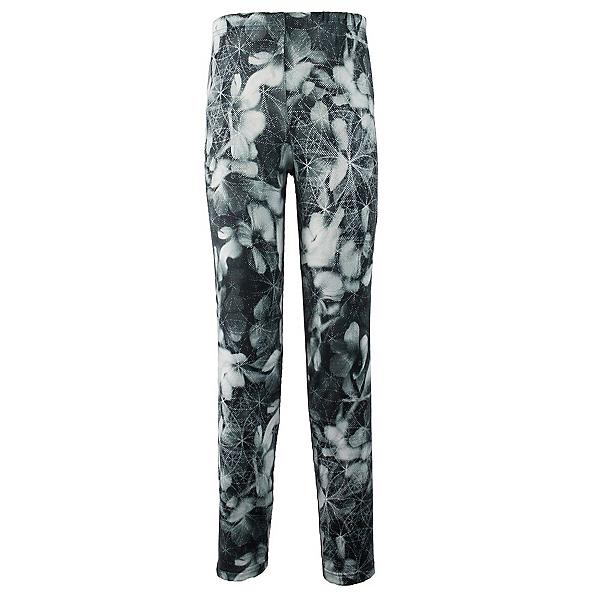 Obermeyer Bearclaw Sport 75 WT Tight Girls Long Underwear Bottom, Blackout Floral, 600