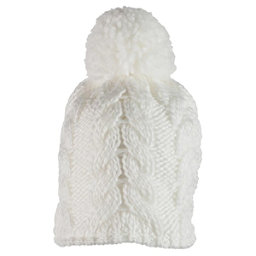 Obermeyer Livy Knit Teen Girls Hat, White, 256