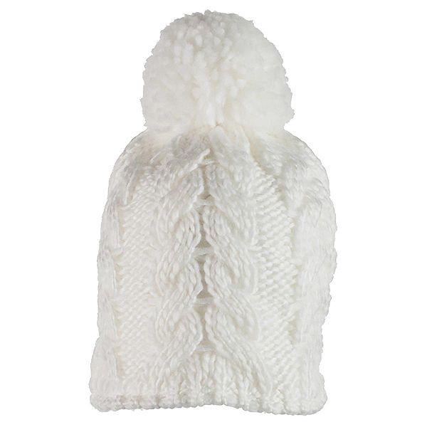 Obermeyer Livy Knit Teen Girls Hat, White, 600