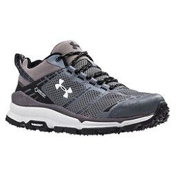Under Armour Verge Low GTX Womens Shoes, Graphite-Black-White, 256