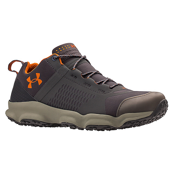 Under Armour SpeedFit Hike Low Mens Shoes, Charcoal-Dune-Texas Orange, 600