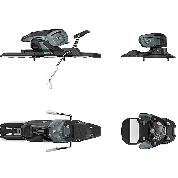 Salomon Warden 11 Ski Bindings 2021, Dark Grey-Black, 600