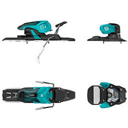 Salomon Warden 11 Ski Bindings 2018, Turquoise-Black, 256