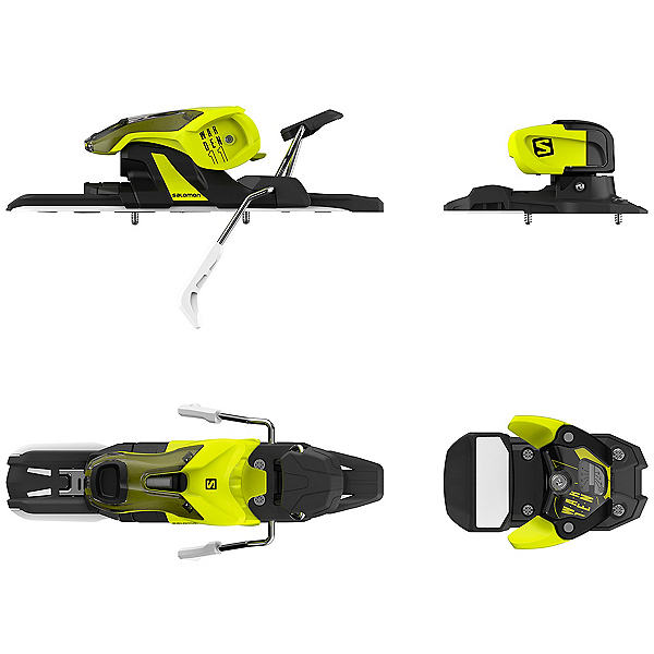 Salomon Warden 11 Ski Bindings, Yellow-Black, 600