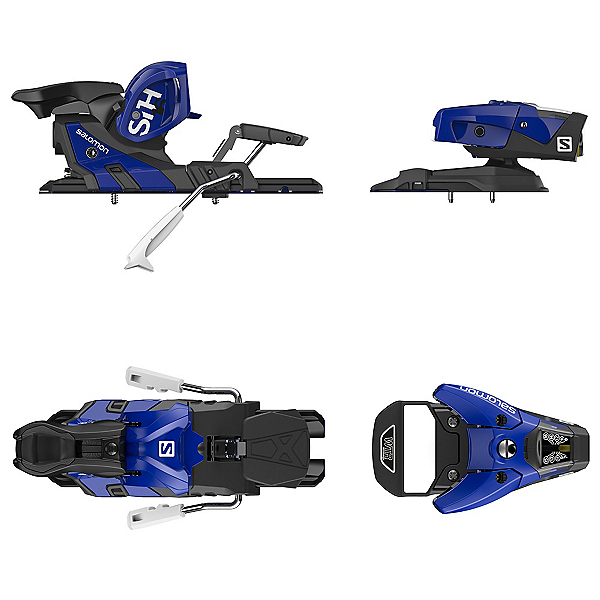Salomon STH2 WTR 16 Ski Bindings 2018, Blue-Black, 600