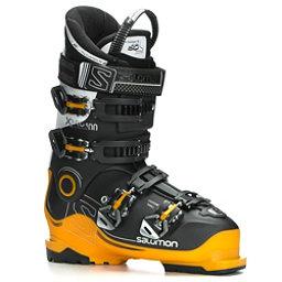 Salomon X-Pro 100 Ski Boots, Black-Safran-White, 256