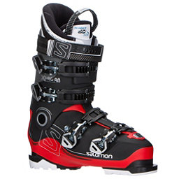 Salomon X-Pro 80 Ski Boots 2018, Black-Red-Anthracite, 256