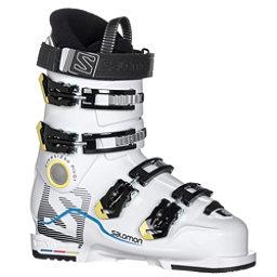 Salomon X-Max 60 T Kids Ski Boots, White-White, 256