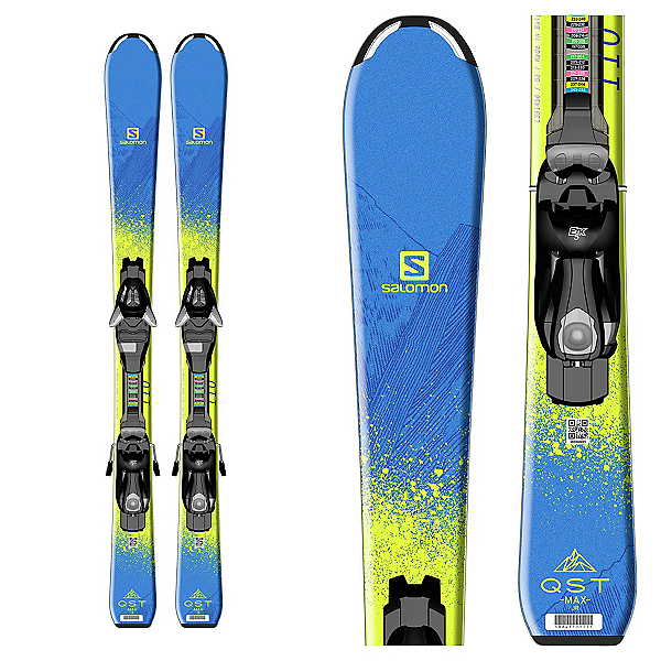 Salomon QST Max Jr. Kids Skis with EZY 5 Bindings, , 600