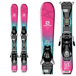 Salomon QST Lux Jr. XS Kids Skis with EZY 5 Bindings, , 256