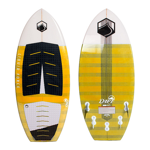 Liquid Force Dart Wakesurfer, 3ft10, 600