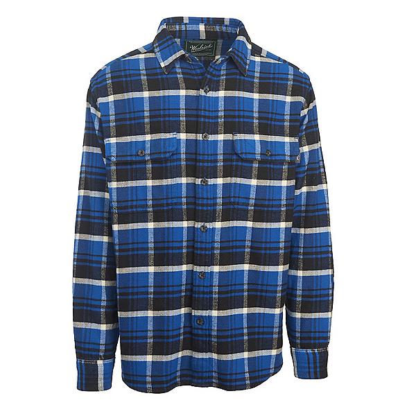 Woolrich Oxbow Bend Flannel Flannel Shirt, Dark Cobalt, 600