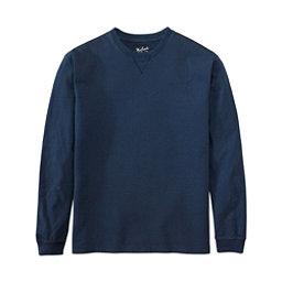 Woolrich First Forks Long Sleeve Mens Shirt, Deep Indigo, 256