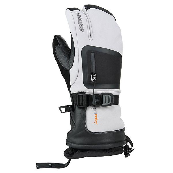 Gordini Fuse Three Finger Gloves 2020, Clay Grey-Black, 600