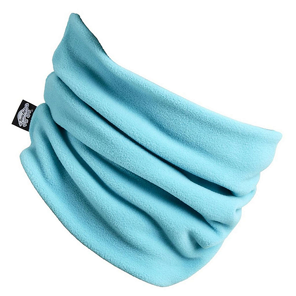 Turtle Fur Micro Fur Double Layer Neck Warmer, Teal Spin, 600