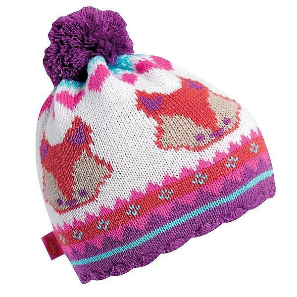 Turtle Fur Little Fox Kids Hat, Pink, 600
