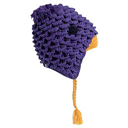 Turtle Fur Free Range Kids Hat, Grape, 256