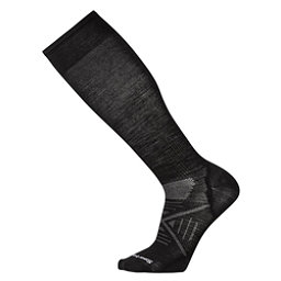 SmartWool PhD Ski Ultra Light Ski Socks, Black, 256