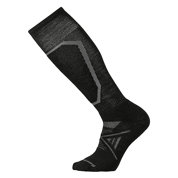 SmartWool PhD Ski Medium Ski Socks, Black, 600