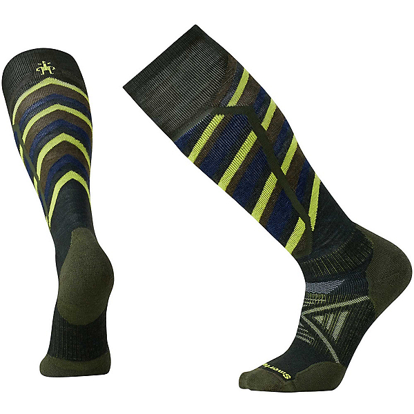 SmartWool PhD Ski Medium Pattern Ski Socks, , 600