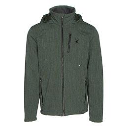 Spyder Patsch Novelty Mens Soft Shell Jacket, Albion Green-Black, 256