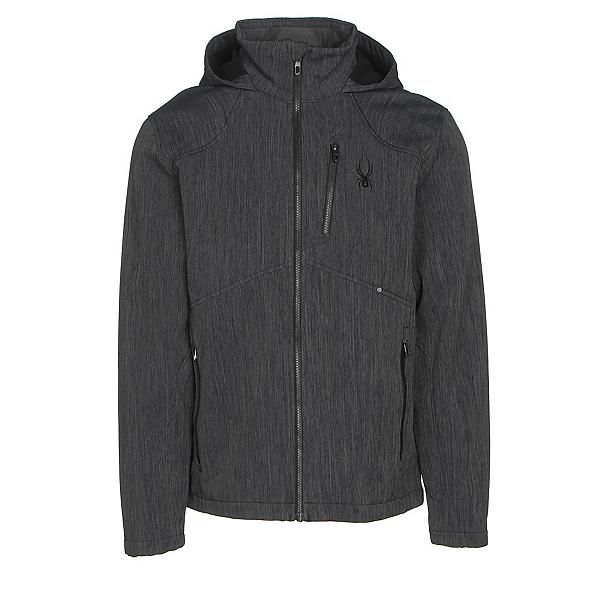 Spyder Patsch Novelty Mens Soft Shell Jacket (Previous Season), Black-Black, 600