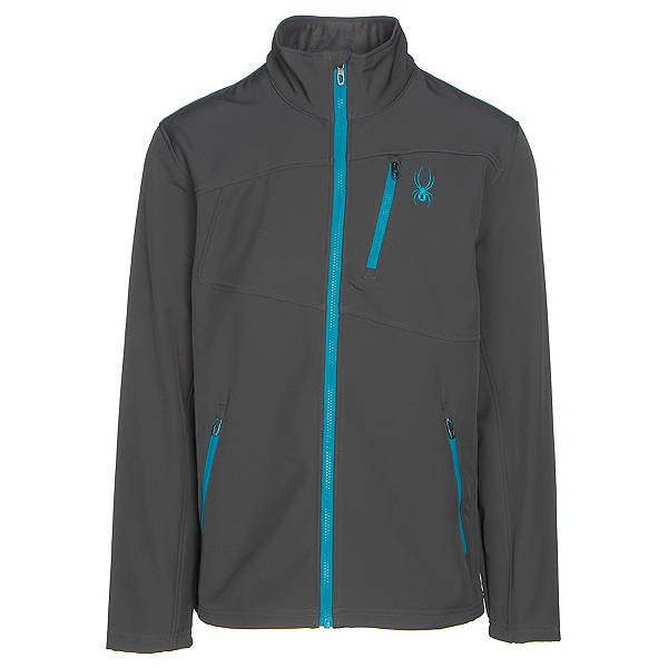 Spyder Fresh Air Mens Soft Shell Jacket (Previous Season), Polar-Electric Blue, 600