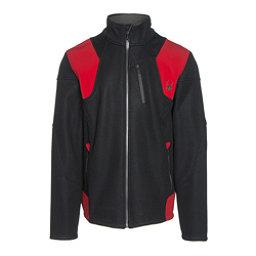 Spyder Legend 3L Mid WT Mens Sweater, Black-Red-Polar, 256