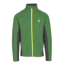 Spyder Constant Full Zip Tailored Mens Sweater, Blade-Polar-Bryte Yellow, 256