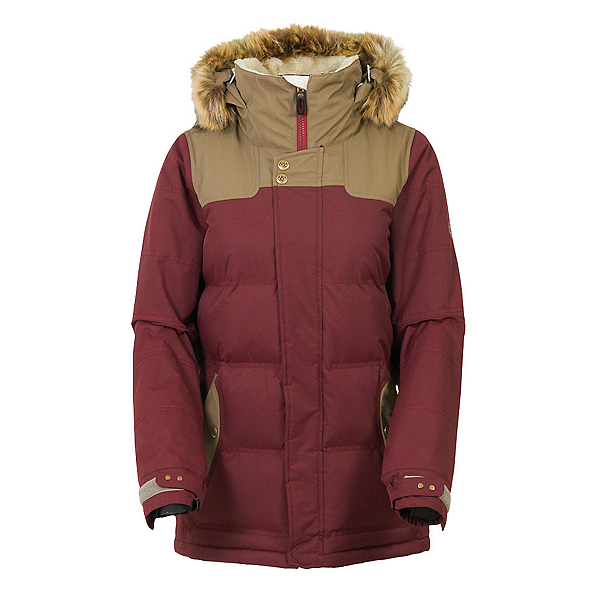 686 Authentic Runway with Faux Fur Womens Insulated Snowboard Jacket, , 600