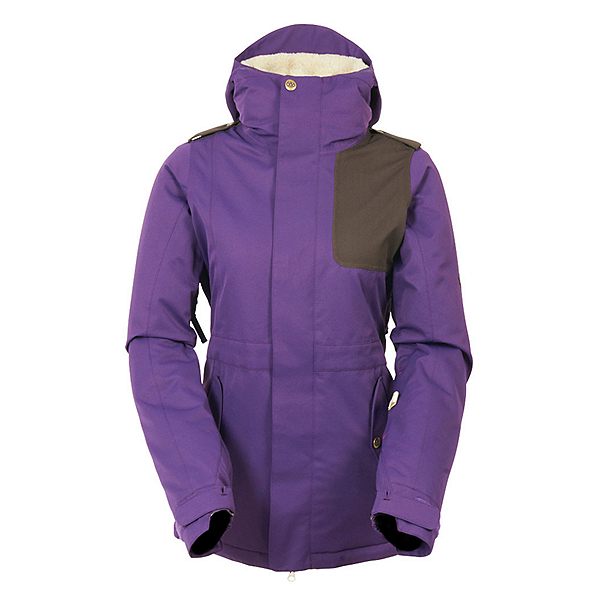 686 4Eva-After Womens Insulated Snowboard Jacket, , 600